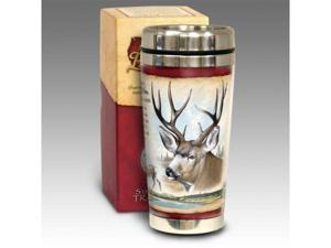American Expediton STMG-123 Mule Deer 16-oz. Steel Travel Mug