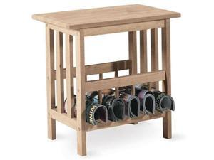 International Concepts 9836 Mission Magazine End Table