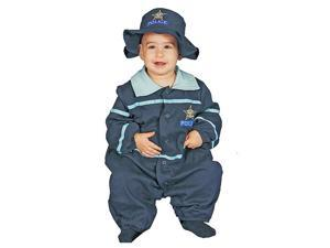 Dress Up America 295-0-9 Baby Police Officer Costume Set - 0-9 Months