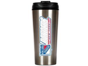 Great American Products Tts010-14 16Oz Stainless Steel Travel Tumbler- Nhl Rangers