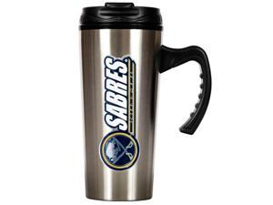 Great American Products Tms002-14 16Oz Stainless Steel Travel Mug- Nhl Sabres