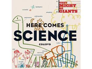TUNE A FISH RECORDS LLC TAF10243 HERE COMES SCIENCE CD-DVD SET BY THEY MIGHT BE GIANTS
