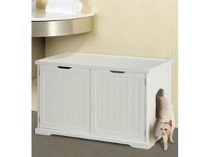 Merry Pet Products MPS012 Cat Washroom Litter Box Cover - Walnut