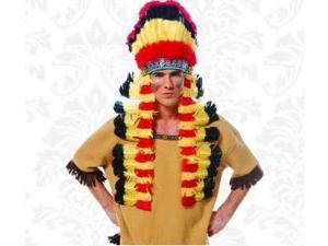 Franco American Novelty 32392 American Native Feather Headdress