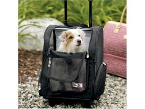 Snoozer SN-86210 Roll Around Pet Carrier - Medium-Black