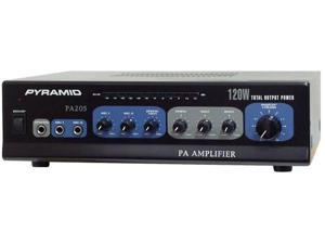 PYRAMID PA205 Amplifier with Microphone Input 120-Watt