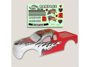 Redcat Racing 50902 .20 Truck Body Red and White