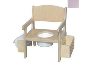 Little Colorado 028LAV Handcrafted Potty Chair with Accessories in Lavender