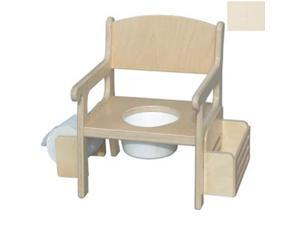 Little Colorado 028LIN Handcrafted Potty Chair with Accessories in Linen