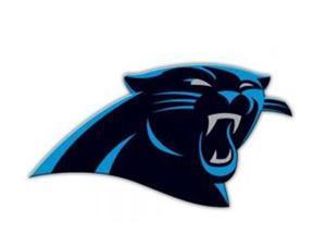 Fremont Die 98728 12 in. Vinyl Magnet - Carolina Panthers