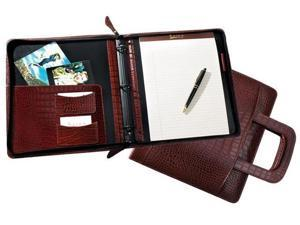 Raika RM 181 BROWN 8in. x 10in. Binder with Handle - Brown