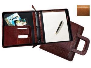 Raika RM 181 TAN 8in. x 10in. Binder with Handle - Tan