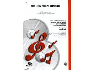 Alfred 00-WBCH9424 The Lion Sleeps Tonight - Music Book