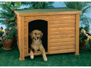 Precision Pet 2700-3LARGE Log Cabin - Large - 45.5 x 33 x 32.8 Inch