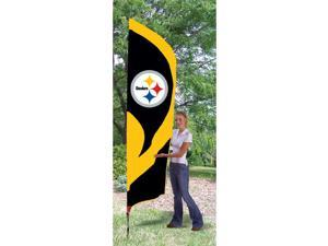 The Party Animal TTST TTST Steelers Tall Team Flag