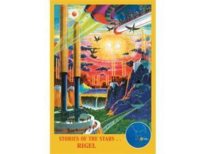 Buyenlarge 16036-5P2030 Stories of the Star... Rigel 20x30 poster