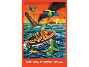 Buyenlarge 16033-0P2030 Warriors of Other Worlds 20x30 poster
