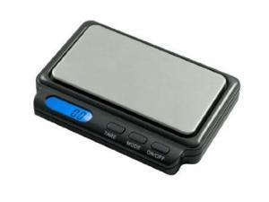 AWS CARD2-600-GRY 600 x 0.1 G Aaa Battery Card Scale - Gray