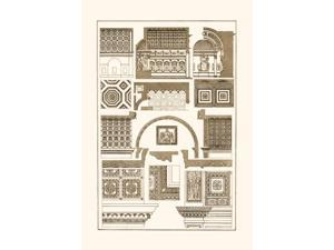 Buyenlarge 09321-8P2030 Roman Barrel-Vaults 20x30 poster