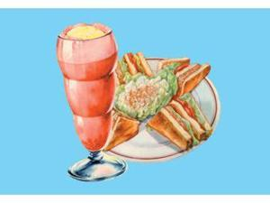 Buyenlarge 14598-6P2030 Club Sandwich and Float 20x30 poster