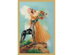 Buyenlarge 13729-0P2030 Kathryn and Chester 20x30 poster