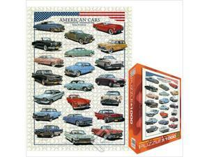 EuroGraphics Puzzles 6000-3870 American Cars of the Fifties