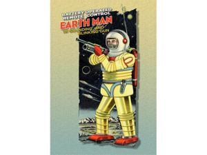 Battery Operated Earth Man 20x30 Poster