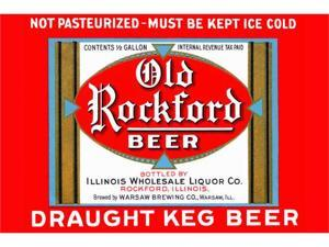Buyenlarge 22567-xP2030 Old Rockford Beer 20x30 poster