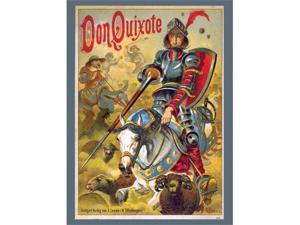 Buyenlarge 21367-1P2030 Don Quixote 20x30 poster