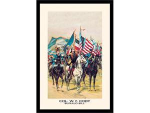Buyenlarge 02897-1P2030 Buffalo Bill - A Factor of International Amity 20x30 poster