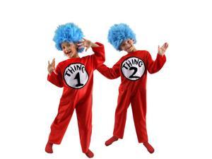 Elope EL43601-M Medium Childs Deluxe Dr. Seuss Thing 1 Or 2 Costume