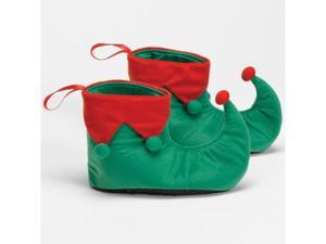 Halco 142136 Elf Shoes Adult - Green - One-Size - up to size 12