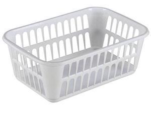 Sterilite Large White Storage Basket  16098024