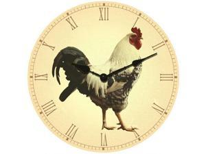 Ruda Overseas 197 14 Inch Big Wooden Wall Clock