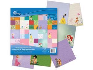 Sandy Lion DMXMPPD1 Disney Mega Paper Pad 12 x 12 Inch 150/Sheet