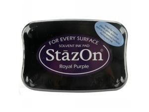 StazOn Solvent Inkpad-Royal Purple