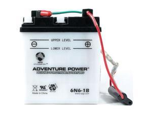 Universal Power 6N6-1B Conventional 6 Volt Battery