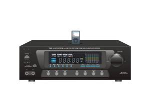 SOUND AROUND-PYLE INDUSTRIES PT270AIU 600-Watt Stereo Receiver AM-FM Tuner, USB-SD, iPod Docking Station and Subwoofer Control
