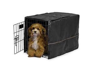 Midwest CVR-22 Quiet Time Crate Cover Black Polyester 23 in. x 13.5 in. x 15 in.