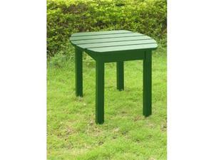 International Concepts T-51901 Adirondack SideTable in Hunter Green