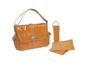 Kalencom 2960LMORG Kalencom Laminated Buckle Bag Orange Corduroy