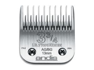ANDIS 008AND-64133 Andis No. 3-3-4 AG-BG UltraEdge Skip Tooth Blade - No. 64133