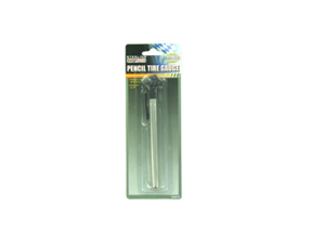 Bulk Buys CA010-24 Pencil Tire Gauge - Pack of 24