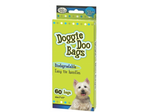 Four Paws - Doggie Doo Bags- Lime 60 Count - 100202134-01816