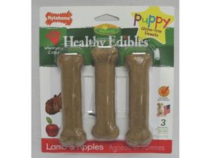 Nylabone Corp - bones - Healthy Edibles Bone Puppy- Lamb & Apples Regular - N502VP