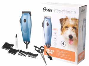 Oster Corporation Pet - Oster Lucky Dog Clipper Kit- Blue - 078960-000-000