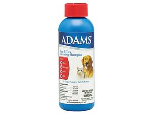 Farnam Pet - Adams Flea & Tick Cleansing Shampoo 6 Ounce - 100504628