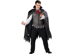 WMU 1171115 3X Vampire B Slayed Men's Costume