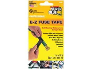 Super Glue 15408 E-z Fuse Silicone Tape, 10 Ft