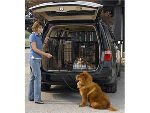 Midwest SL36SUV Solutions Series Side-by-Side Double Door SUV Crates 36 in. x 21 in. x 26 in.